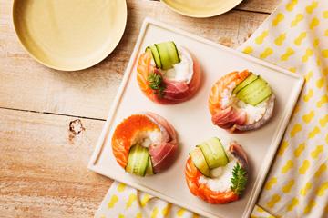 【イメージ写真】寿司ドーナツ
