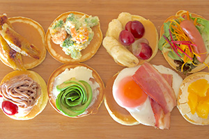 【イメージ写真】オープンパンケーキ