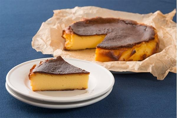 【イメージ写真】バスクチーズケーキ